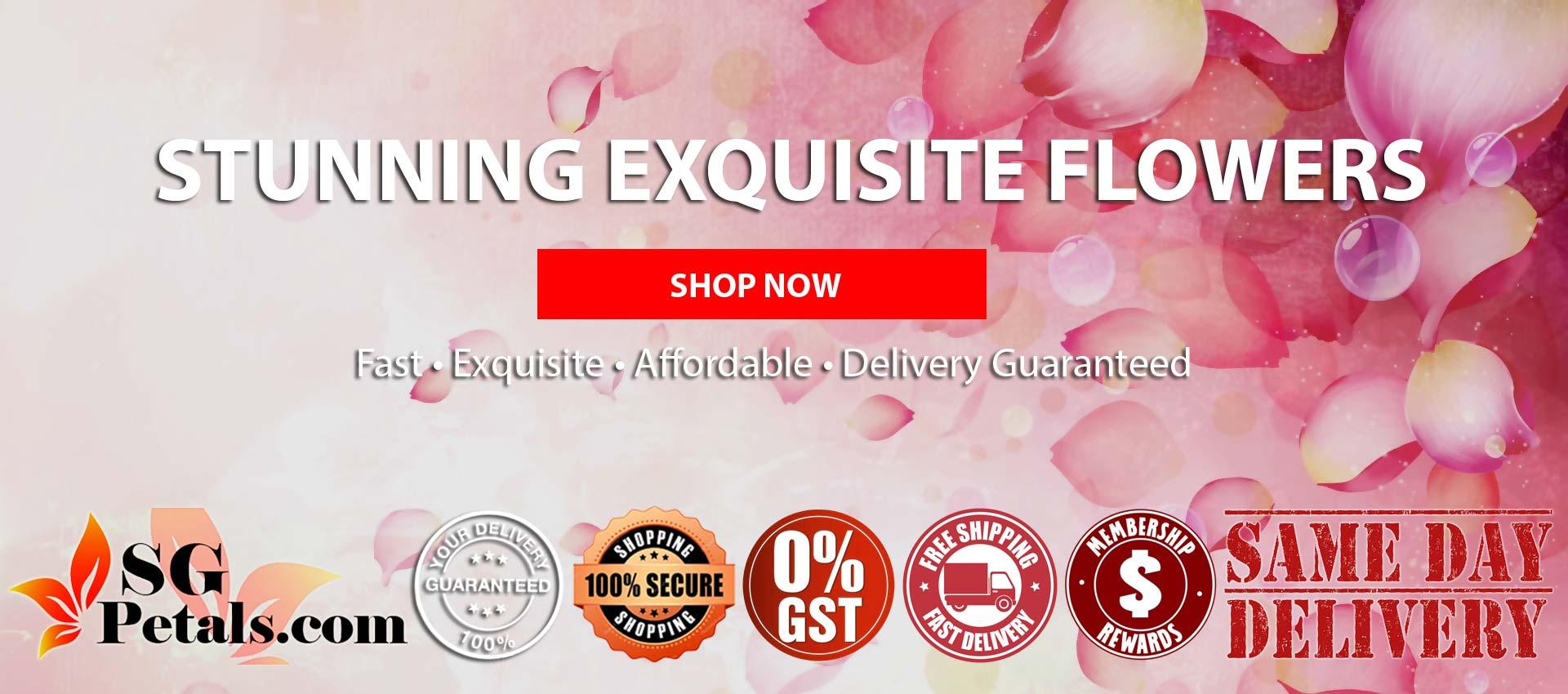 Singapore No. 1 Online Florist | Sgpetals.com