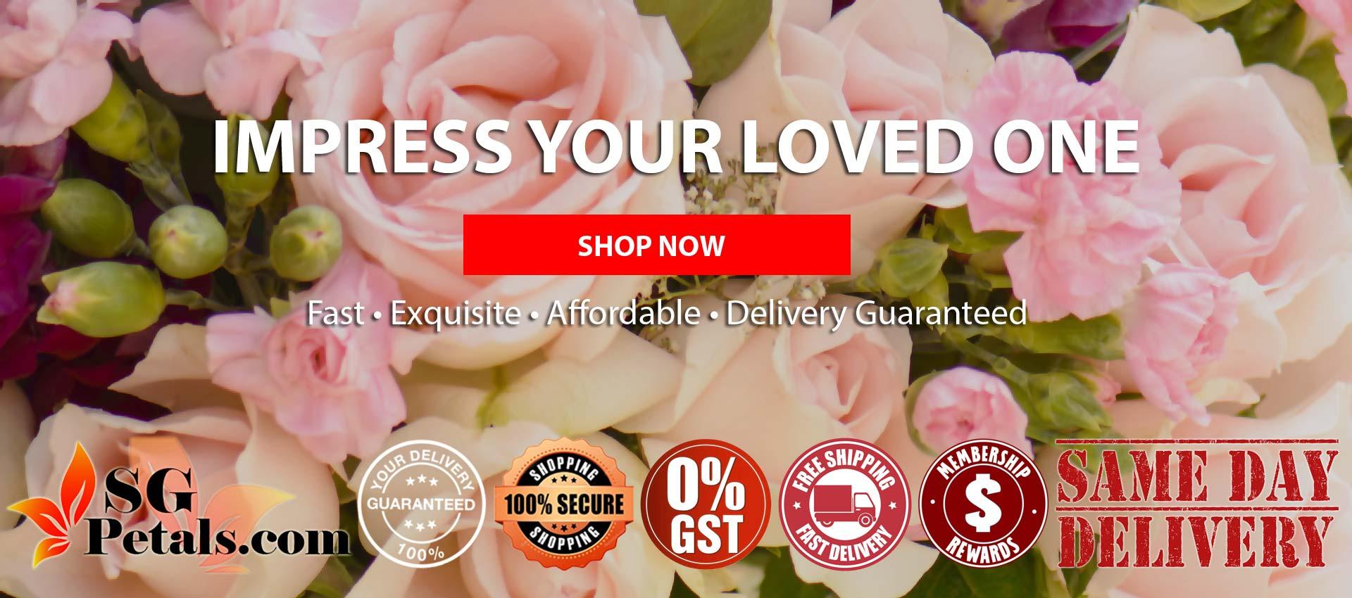 Singapore Best Online Florist | Sgpetals.com